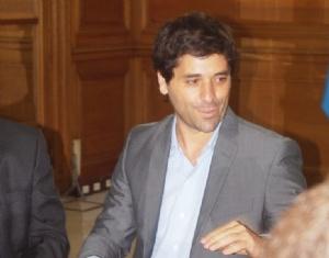 García de Luca, viceministro del interior