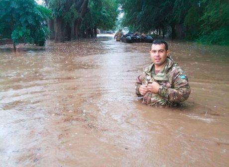 Santa Rosa inundación foto eldiariodelapampa.com.ar