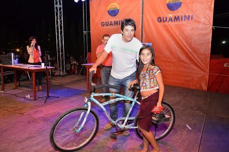 Guaminí - Sorteo - Entrega Bicicleta