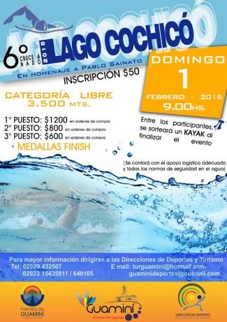 Promoción Cruce a nado de Cochicó
