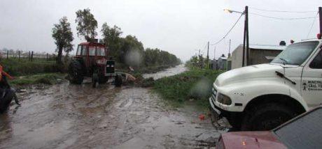 General Villegas - Inundación - Foto: diarioactualidad.com