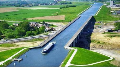Hidrovía (imágenes de Europa extraídas de Google)