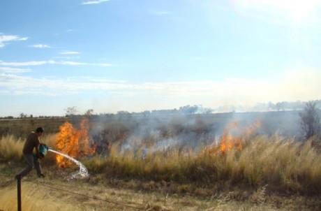 La Pampa - incendios rurales