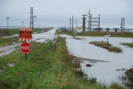 La Pampa inundación Ojeda