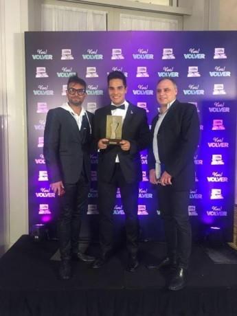 Martínez, Juani - Premio FundTV