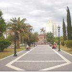 Santa Rosa plaza principal