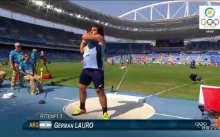 Lauro, Germán lanzamiento en Río
