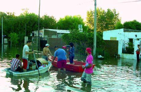 Santa Rosa inundaciones foto diariotextual.com