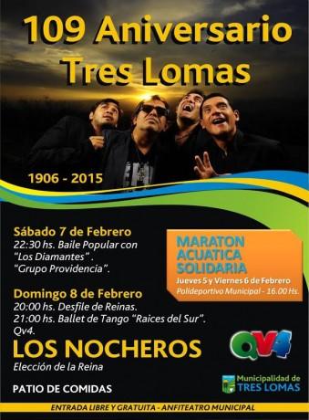 Tres Lomas - 109 Aniversario