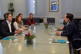 Agropecuaria - Reunion de Rodriguez con embajador chino