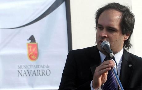Maggiotti, Santiago - Intendente de Navarro