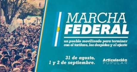 Marcha Federal afiche