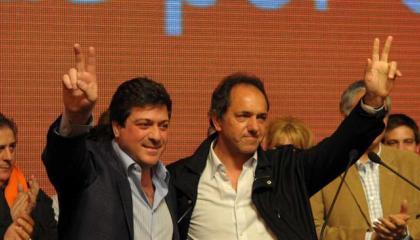 Mariotto y Scioli