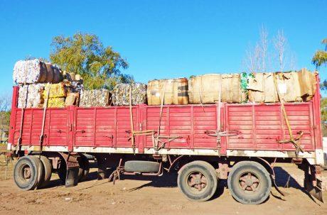 Reciclado transporte
