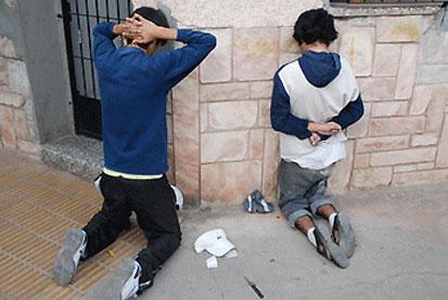 Menores detenidos (imágen extraída de Google)