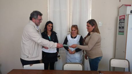 Juan José Paso entrega de subsidio