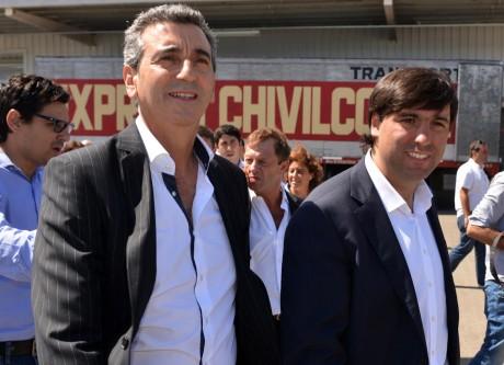 Randazzo y Bossio en Chivilcoy