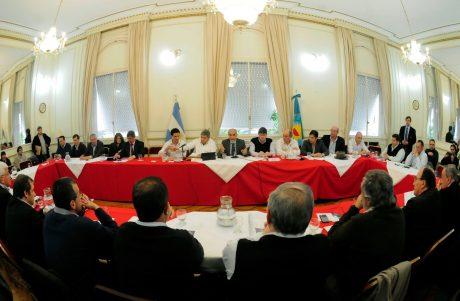 Provincia de Buenos Aires intendentes radicales en Senadores