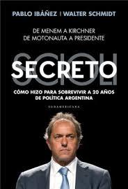 Scioli Secreto - Tapa del libro
