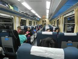 Tren de Pasajeros (interior vagón)