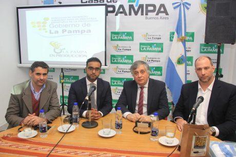 La Pampa empresarios con autoridades de Dubai