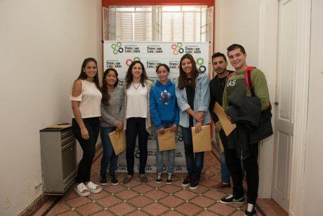 Bathis, Marta con estudiantes