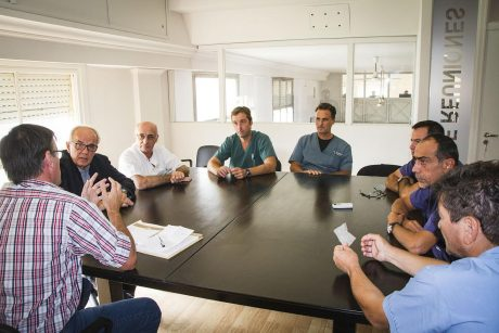 Trenque Lauquen reunión con médicos