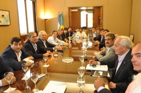 Provincia de Buenos Aires reunión con entidades agropecuarias