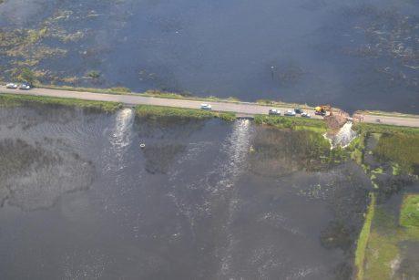 Río Quinto límite con provincia de Buenos Aires