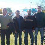 Funcionarios municipales en General Villegas. Entre ellos, Javier Charette