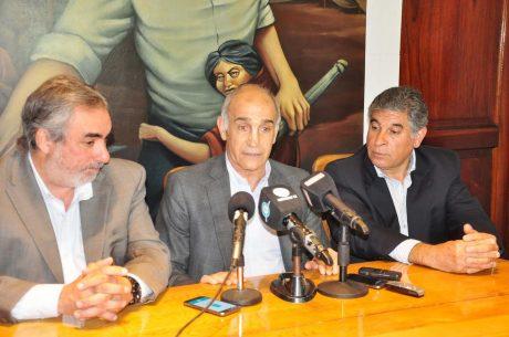 Salvador, Daniel con Fernández y Figal