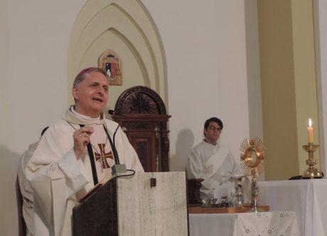 Religión misa por el nacimiento del Cura Brochero
