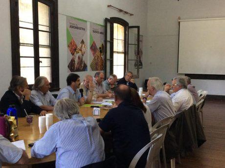 Reunión de la comisión lechera