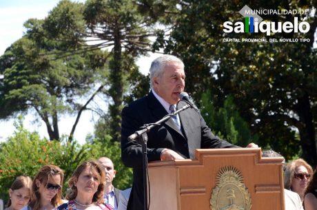 Salliqueló 55 años autonomía habla el intendente Jorge Hernández