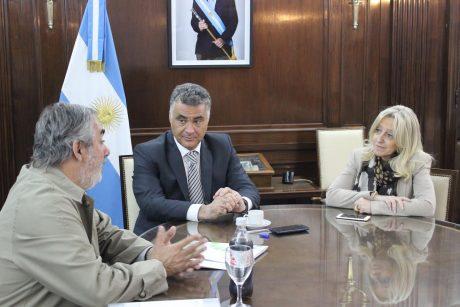 Trenque Lauquen Fernández en ministerio de Política Ambiental