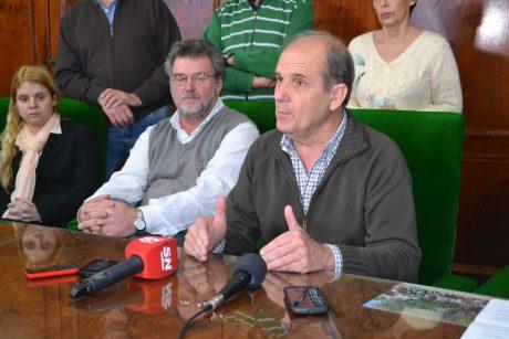 Zurro, Pablo en conferencia de prensa