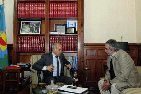 Fernández con Daniel Salvador, vicegobernador de Buenos Aires