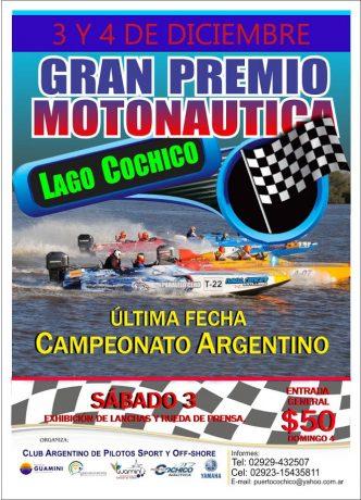 Cochicó Gran Premio de Motonáutica