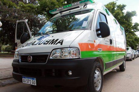Carlos Casares Nueva Ambulancia