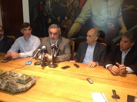 Salvador, Daniel con Fernández, Figal y Di Pietro