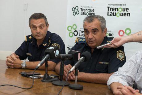 Trenque Lauquen conferencia de prensa Policía