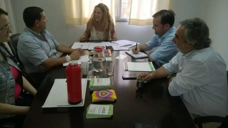 Pellegrini Pacheco gestiones en Buenos Aires