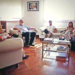 Trenque Lauquen reunión con profesional de la Universidad de La Plata