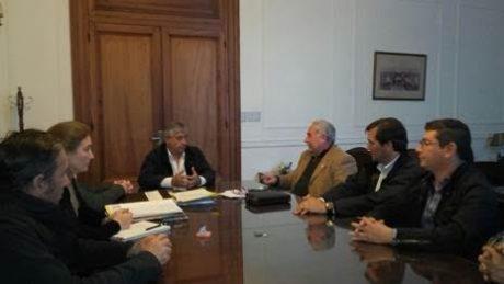 General Villegas reunión con el RENATRE