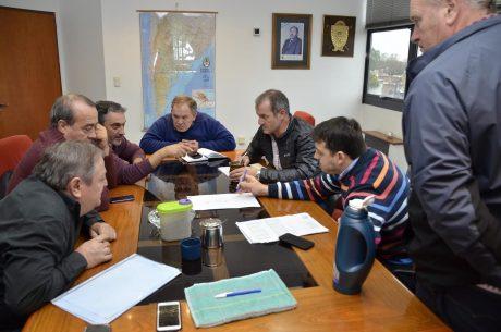 La Pampa reunión de Vialidad Provincia