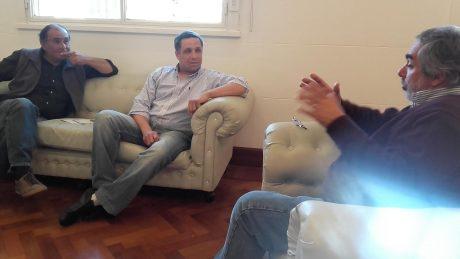 Fernández, Diego y Cepeda, Iván con Fernández, Miguel