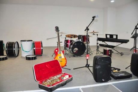 Trenque Lauquen Escuela de Música entrega equipamiento