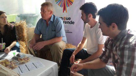 Ombroni, Marcelo secretario producción Trenque Lauquen con emprendedores