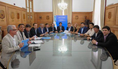 Trenque Lauquen firma convenio en el ministerio del Interior