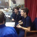 Argentino algunos de los chicos en Las Radios de Trenque Lauquen